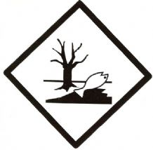 L Marine Pollutant - Environmentally Hazardous Substances Package Label (Small)